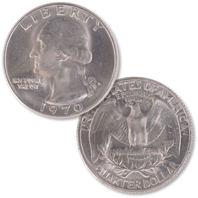 Image for 1970-D Washington Quarter from Littleton Coin Company