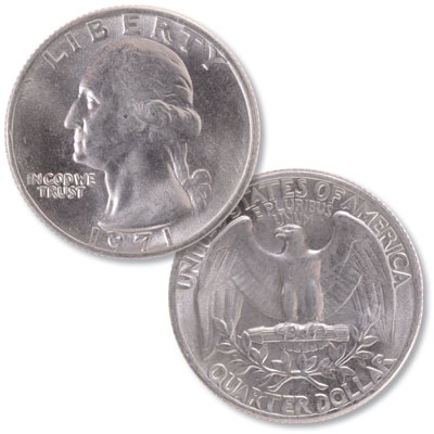 Image for 1971 Washington Quarter from Littleton Coin Company