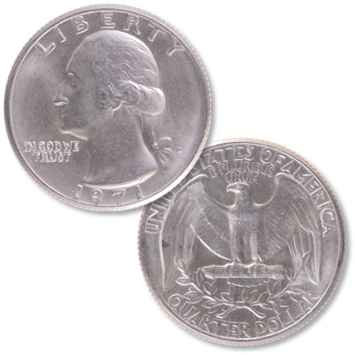 Image for 1971-D Washington Quarter from Littleton Coin Company