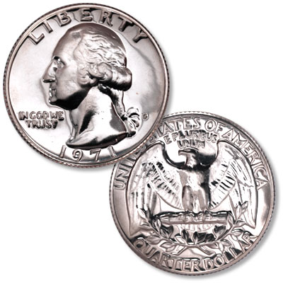 Image for 1971-S Washington Quarter from Littleton Coin Company