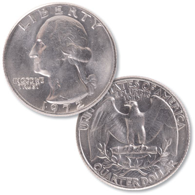Image for 1972 Washington Quarter from Littleton Coin Company