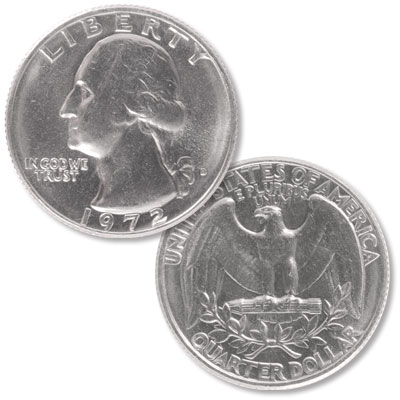 Image for 1972-D Washington Quarter from Littleton Coin Company