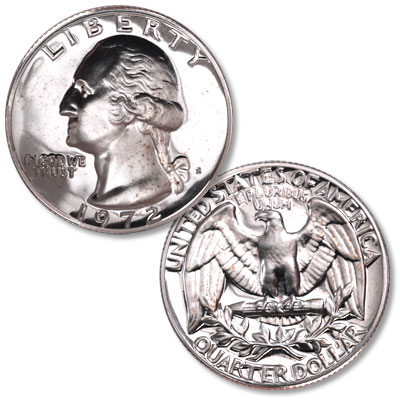Image for 1972-S Washington Quarter from Littleton Coin Company