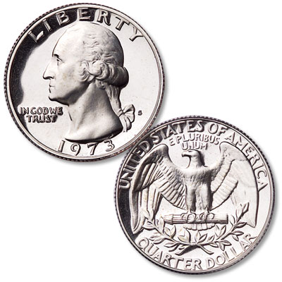 Image for 1973-S Washington Quarter from Littleton Coin Company