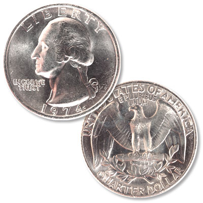 Image for 1974 Washington Quarter from Littleton Coin Company