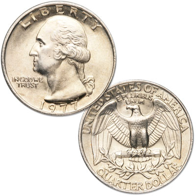 Image for 1977 Washington Quarter from Littleton Coin Company