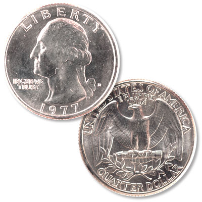 Image for 1977-D Washington Quarter from Littleton Coin Company