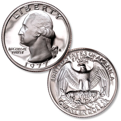 Image for 1977-S Washington Quarter from Littleton Coin Company