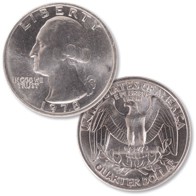 Image for 1978 Washington Quarter from Littleton Coin Company