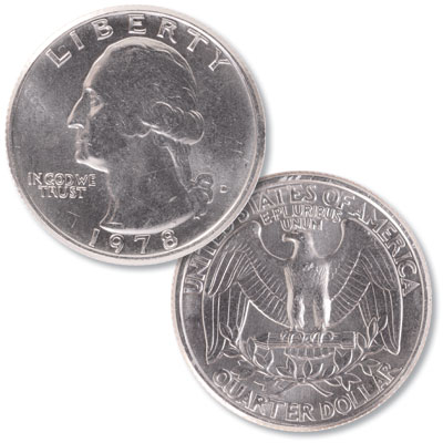 Image for 1978-D Washington Quarter from Littleton Coin Company