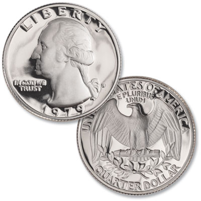 Image for 1979-S Washington Quarter Clear S from Littleton Coin Company