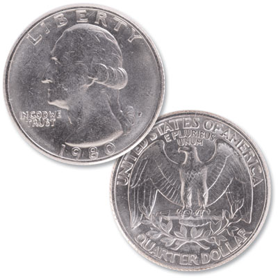 Image for 1980 Washington Quarter from Littleton Coin Company