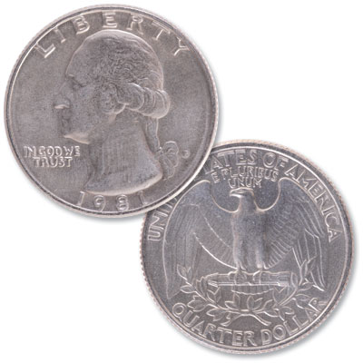 Image for 1981 Washington Quarter from Littleton Coin Company