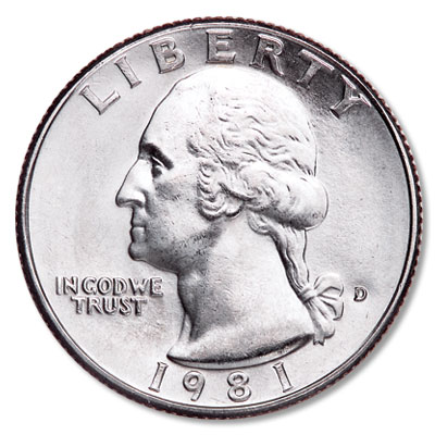Image for 1981-D Washington Quarter from Littleton Coin Company
