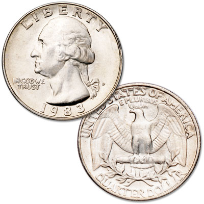 Image for 1983 Washington Quarter from Littleton Coin Company