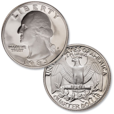 Image for 1983-S Washington Quarter from Littleton Coin Company