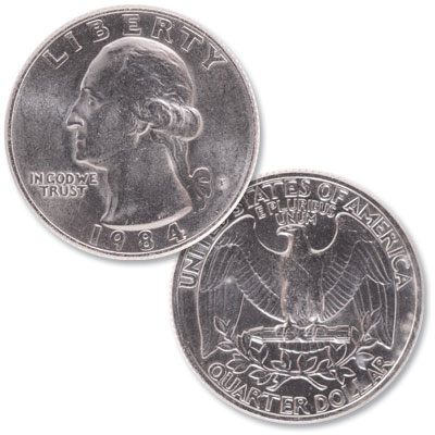 Image for 1984 Washington Quarter from Littleton Coin Company