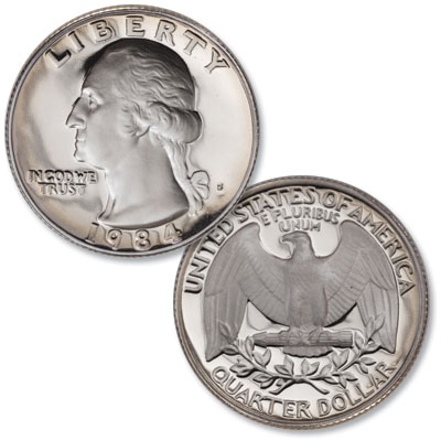 Image for 1984-S Washington Quarter from Littleton Coin Company