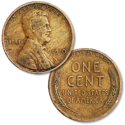 Image for 1910 Lincoln Head Cent from Littleton Coin Company