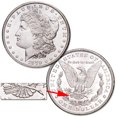 Image for 1879-S Morgan Silver Dollar (SAF) from Littleton Coin Company