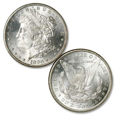 Image for 1880-S Morgan Silver Dollar from Littleton Coin Company