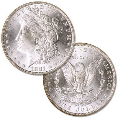 Image for 1881 Morgan Silver Dollar from Littleton Coin Company