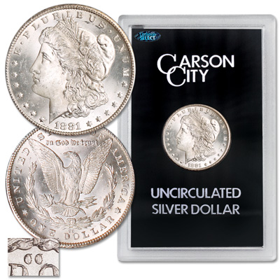 Image for 1881-CC Morgan Silver Dollar from Littleton Coin Company