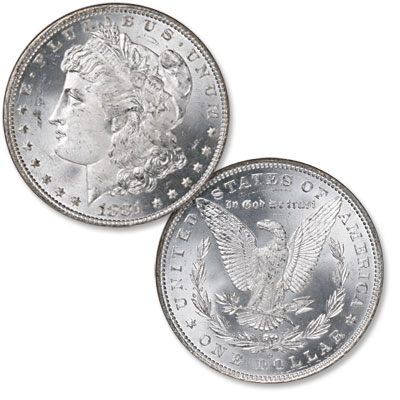 Image for 1881-O Morgan Silver Dollar from Littleton Coin Company