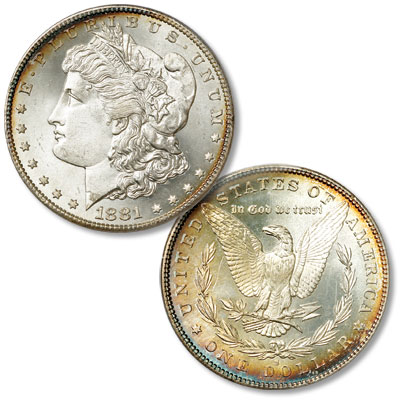 Image for 1881-S Morgan Silver Dollar from Littleton Coin Company
