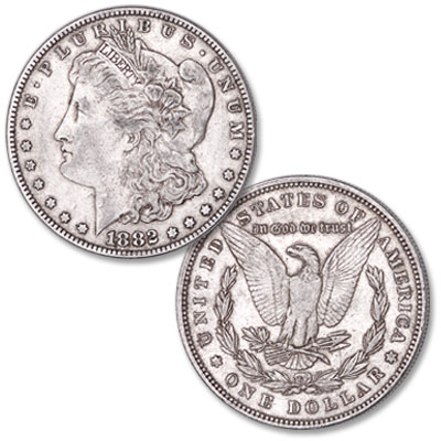 Image for 1882 Morgan Silver Dollar from Littleton Coin Company