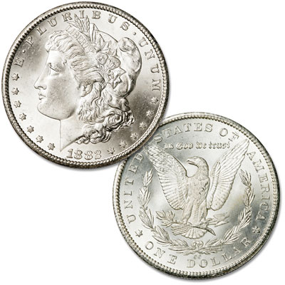 Image for 1882-CC Morgan Silver Dollar from Littleton Coin Company