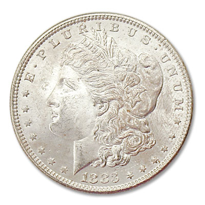 Image for 1883 Morgan Silver Dollar from Littleton Coin Company