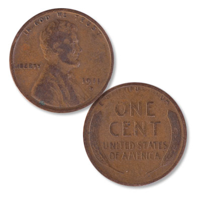 Image for 1911-D Lincoln Head Cent from Littleton Coin Company