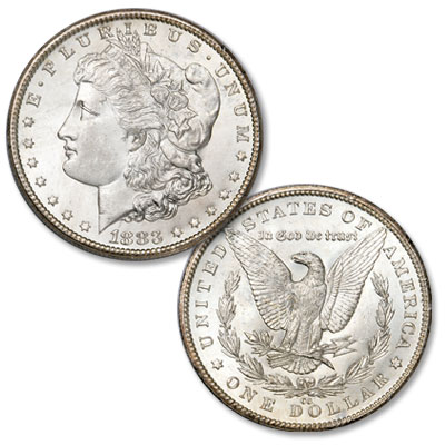 Image for 1883-CC Morgan Silver Dollar from Littleton Coin Company