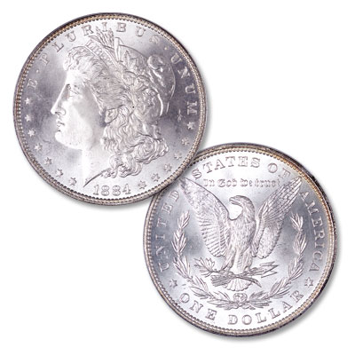 Image for 1884 Morgan Silver Dollar from Littleton Coin Company