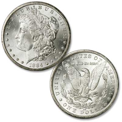 Image for 1884-CC Morgan Silver Dollar from Littleton Coin Company