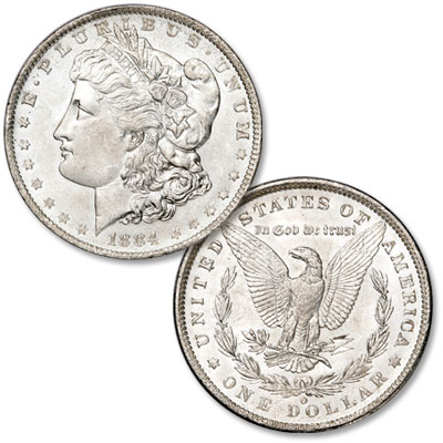 Image for 1884-O Morgan Silver Dollar from Littleton Coin Company