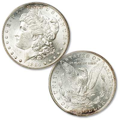 Image for 1884-S Morgan Silver Dollar from Littleton Coin Company