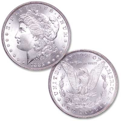 Image for 1885 Morgan Silver Dollar from Littleton Coin Company