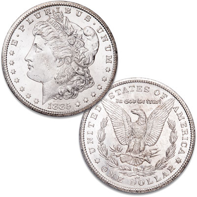 Image for 1885-CC Morgan Silver Dollar from Littleton Coin Company