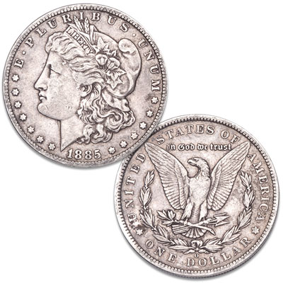 Image for 1885-O Morgan Silver Dollar from Littleton Coin Company