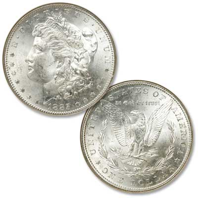 Image for 1885-S Morgan Silver Dollar from Littleton Coin Company