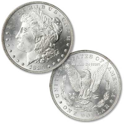 Image for 1886 Morgan Silver Dollar from Littleton Coin Company