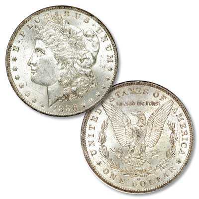 Image for 1886-O Morgan Silver Dollar from Littleton Coin Company