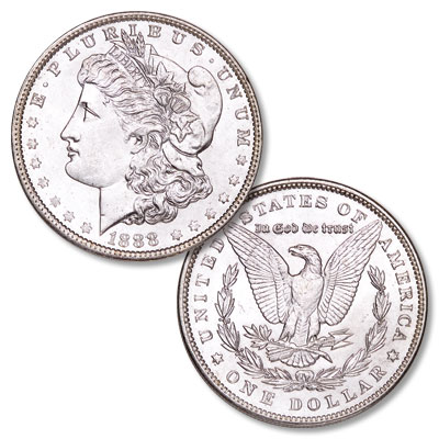 Image for 1888 Morgan Silver Dollar from Littleton Coin Company