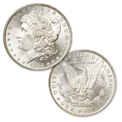 Image for 1888-O Morgan Silver Dollar from Littleton Coin Company