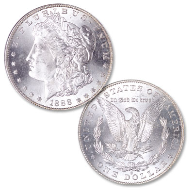 Image for 1888-S Morgan Silver Dollar from Littleton Coin Company