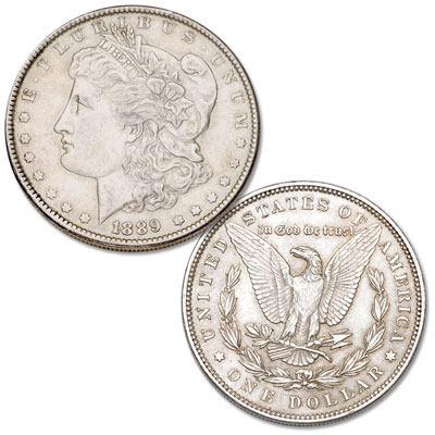 Image for 1889 Morgan Silver Dollar from Littleton Coin Company