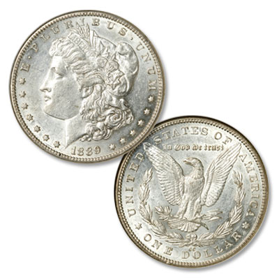 Image for 1889-CC Morgan Silver Dollar from Littleton Coin Company
