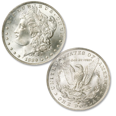 Image for 1889-O Morgan Silver Dollar from Littleton Coin Company